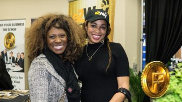 Casting Director Roz Taylor-Jordan Americas Got Talent, Oprah) and Dr. Danté Sears, Founder of World Prosperity Network.